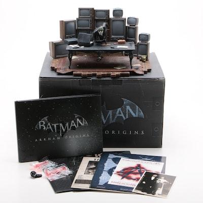"Triforce ""Batman: Arkham Origins"" Joker Statue with LED Effects, Contemporary"