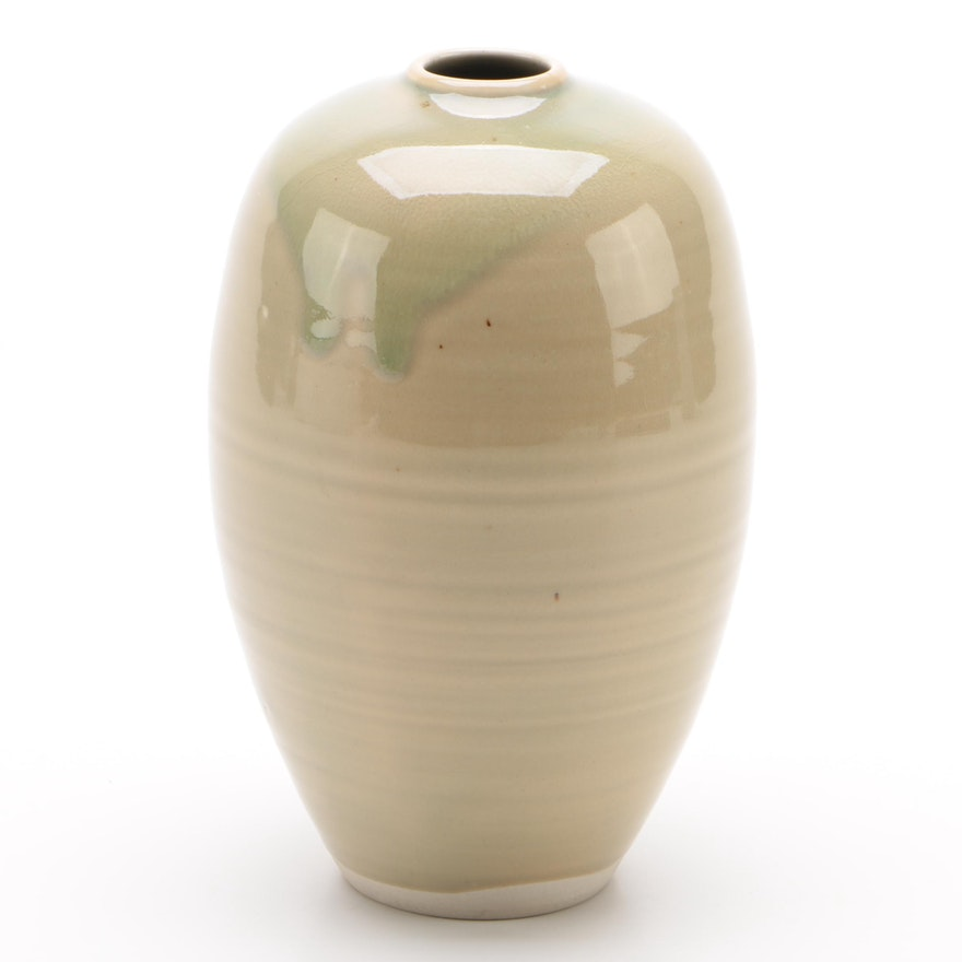 Ben Owen III Modern Art Pottery Vase, 2005