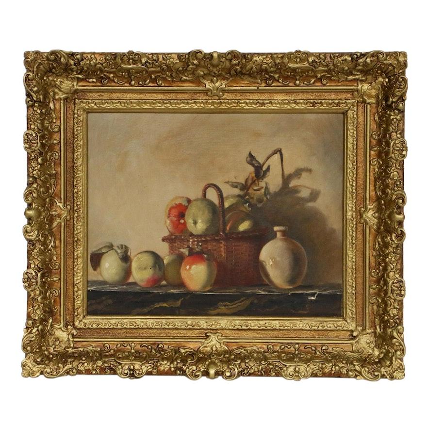 Alma Miller Still-Life Oil Painting