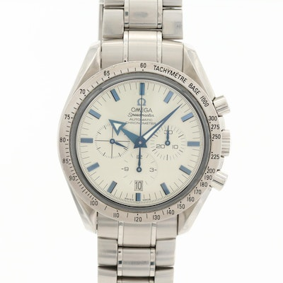 Omega Speedmaster Broad Arrow Automatic Chronograph Wristwatch
