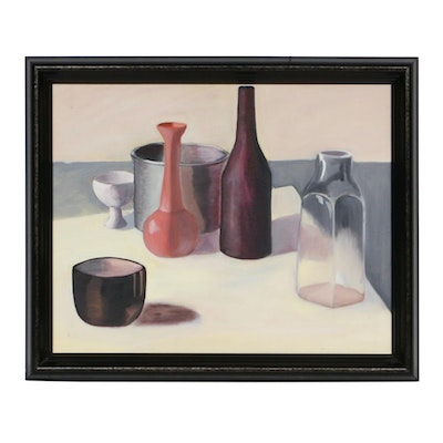 Still Life of Vessels Oil Painting