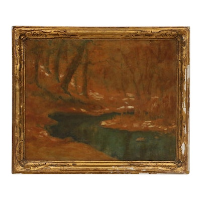 Late 19th/Early 20th Century Landscape Oil Painting