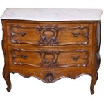 French Provincial Louis XV Style Commode, Late 19th/Early 20th Century