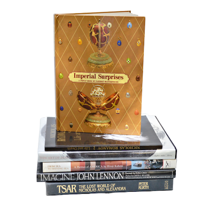 """Tsar: The Lost World of Nicholas and Alexandra"" and Other Coffee Table Books"