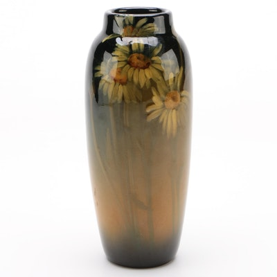 Carolyn Francis Steinle Rookwood Pottery Standard Glaze Vase, 1906