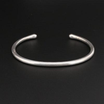 Georg Jensen Sterling Silver Danish Modern Cuff Bracelet