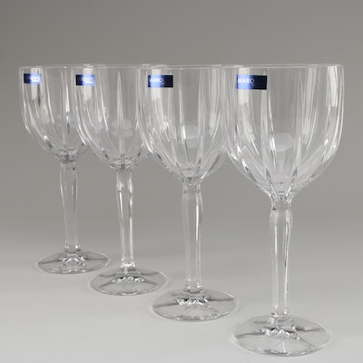 """Marquis by Waterford """"Omega"""" All-Purpose Wine Glasses, Contemporary"""