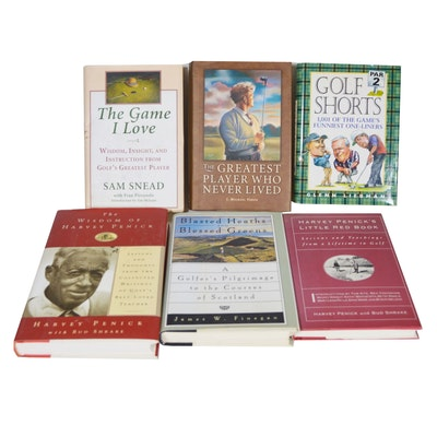 """The Wisdom of Harvey Penick"" and Other Golf Books"