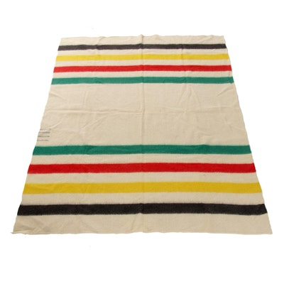 Early's of Witney Point Wool Blanket, 1970s