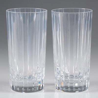 "Baccarat ""Harmonie"" Crystal Highball Glasses"