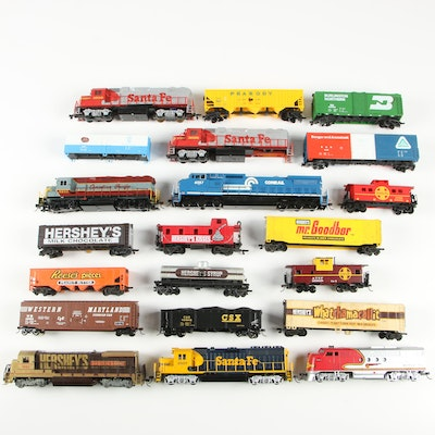 Bachmann and Life-Like Model Trains with Padded Cases