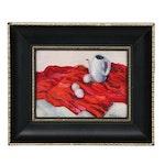 Miniature Still Life Oil Painting