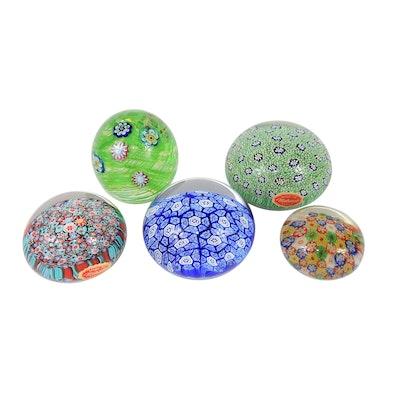 "Murano ""Millefiori"" and Other Art Glass Paperweights"