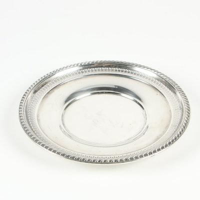 La Pierre Sterling Silver Pierced Sandwich Plate