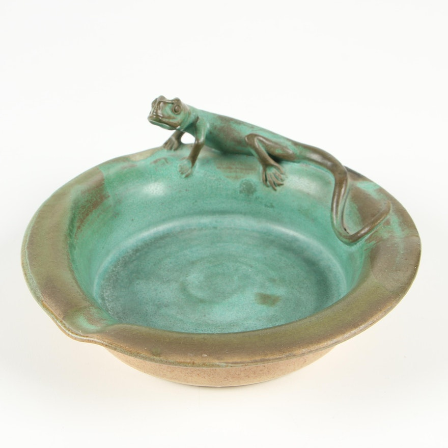 Nancy Humeniuk Lizard Body Ashtray