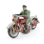 Diecast Metal Toy Motorcycle Patrolman