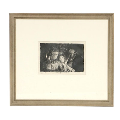 """George Bellows Lithograph """"Family"""""""