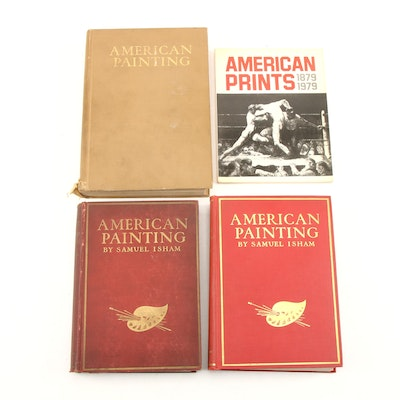 """The History of American Painting"" by S. Isham and ""American Prints"" by F. Carey"