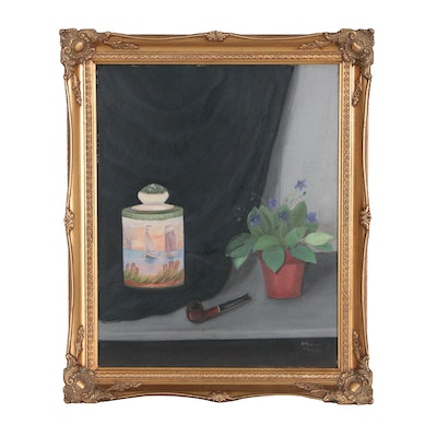 J.V. Donaway Still Life Oil Painting