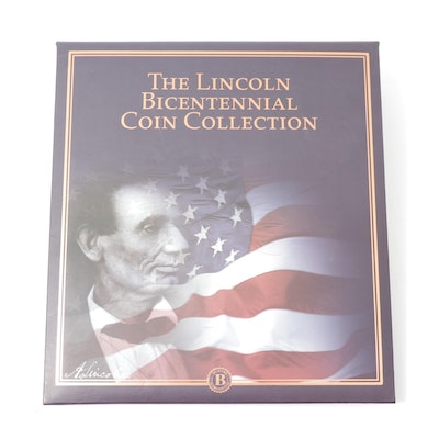 """""""The Lincoln Bicentennial Coin Collection"""" Lincoln Cent Set"""