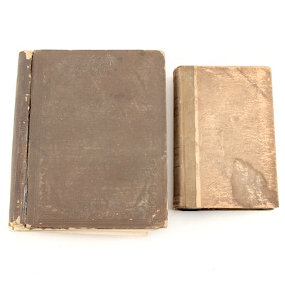 Antique Reports on U. S. Railroad Exploration and Erie, Pennsylvania Laws