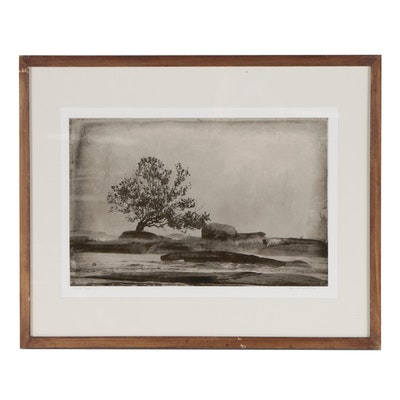 """River Tree"" Photographic Print"