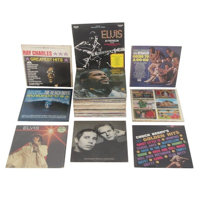 Marvin Gaye, Elvis, Smokey Robinson, Simon and Garfunkel and Other Rock Records