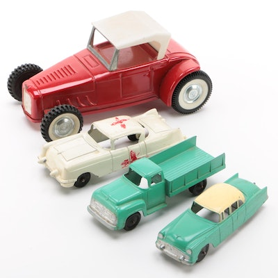 Structo, Tootsie, Nylant, and Other Die-Cast Model Cars, Vintage