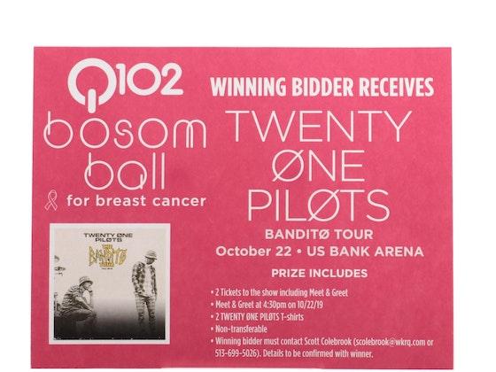 Q102 Bosom Ball For Breast Cancer