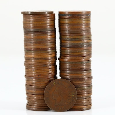 Eighty-Five Indian Head Cents