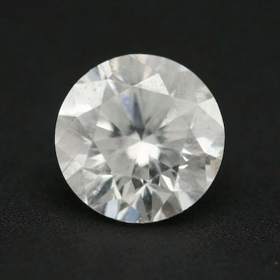 Loose 1.01 CT Round Brilliant Cut Diamond