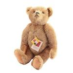 Margaret Woodbury Strong Museum Replica Steiff Mohair Teddy Bear, 1980s