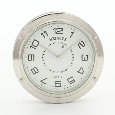 Hermes Clipper Quartz Alarm Clock