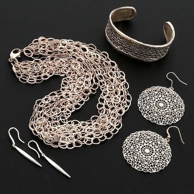 Sterling Silver Assorted Fancy Jewelry