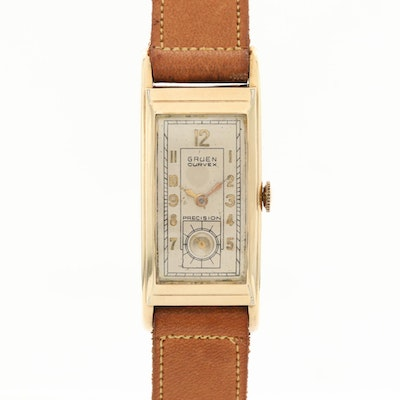 Vintage Gruen Curvex Gold Filled Wristwatch