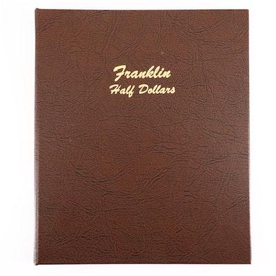 Complete Dansco Album of Franklin Silver Half Dollars, 1948 to 1963