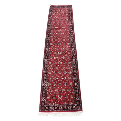 2'6 x 12'1 Hand-Knotted Indo-Persian Tabriz Runner Rug