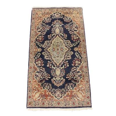 3' x 5'10 Hand-Knotted Pakistani Persian Tabriz Rug, Vintage