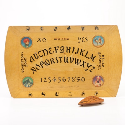 "Hasko ""Mystic Tray"" Ouija Board, 1940s"
