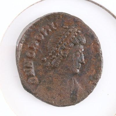 Ancient Roman Imperial AE4 of Honorius, ca. 400 A.D.