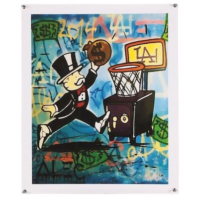 "Giclée after Alec Monopoly ""Basketball"""