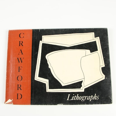 "Signed ""The Lithographs of Ralston Crawford"" by Richard Freeman"