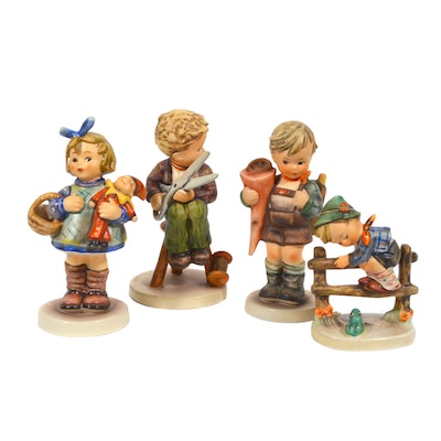 "Goebel Hummel ""Retreat to Safety"" and Other Porcelain Figurines"