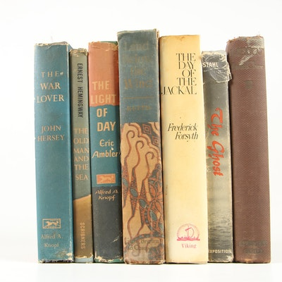 "First American Edition ""The Light of the Day"" with Additional Vintage Books"