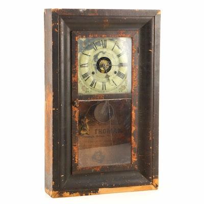 Seth Thomas Ogee Mantel Clock, circa 1860 - 1865