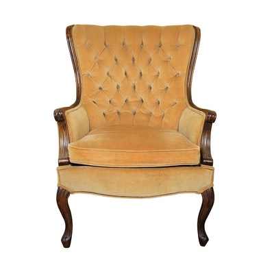 Victorian Style Tufted Armchair