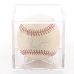 Nolan Ryan Signed American League Baseball  Visual COA