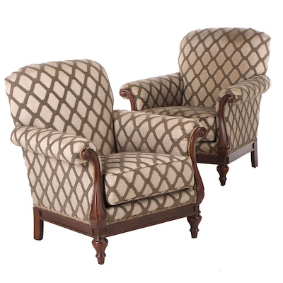 Thomasville Upholstered Armchairs