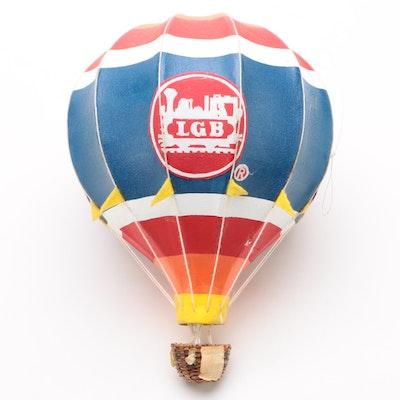 LGB Trains Hot Air Balloon Papier-mâché Store Display, Contemporary
