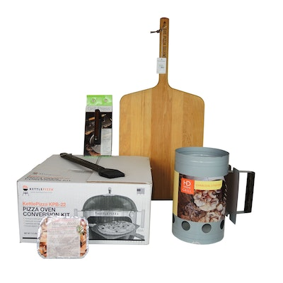 KettlePizza Pizza Oven Conversion Kit and Other Grilling Accessories